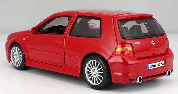 โมเดลรถเหล็ก โมเดลรถยนต์ Volkswagen golf r32 2