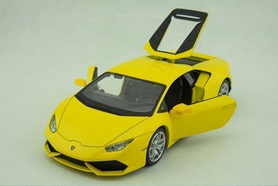 โมเดลรถ โมเดลรถยนต์ รถเหล็ก Lamborghini huracan LP610-4 7