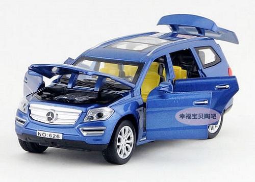 โมเดลรถเหล็ก โมเดลรถยนต์ Benz GL500 11