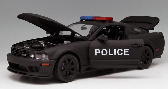 โมเดลรถ โมเดลรถเหล็ก โมเดลรถยนต์ Ford Police S281 4