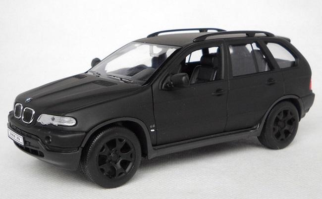 โมเดลรถ โมเดลรถเหล็ก โมเดลรถยนต์ BMW X5 matte black 1