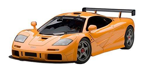 โมเดลรถ โมเดลรถยนต์ โมเดลรถเหล็ก mclaren f1 lm orange 2