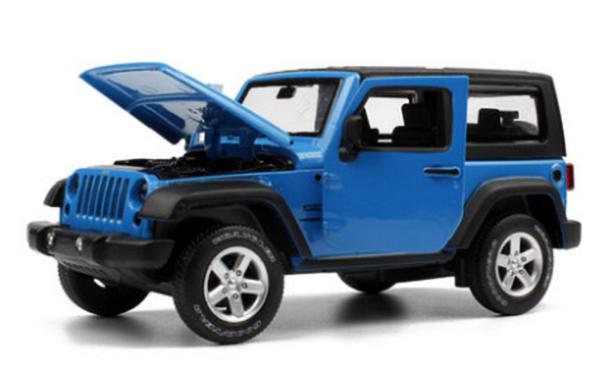 โมเดลรถเหล็ก โมเดลรถยนต์ Jeep Wrangler 4