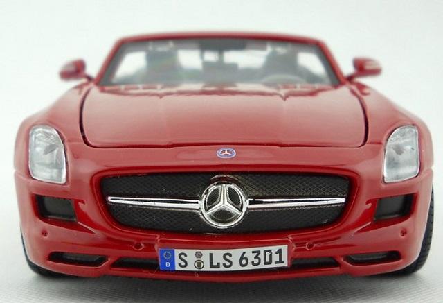 sls amg roadster แดง 6