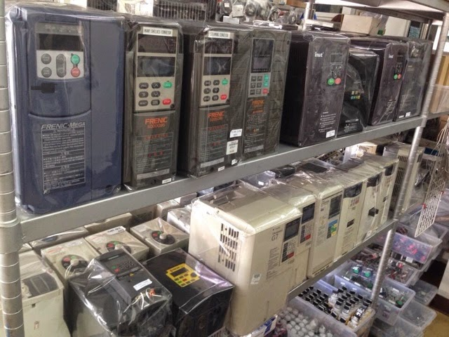 รับซื้อ-ขายอะไหล่เครื่องจักรมือสอง plc inverter servo touch screen sensor โทร.02-9444511