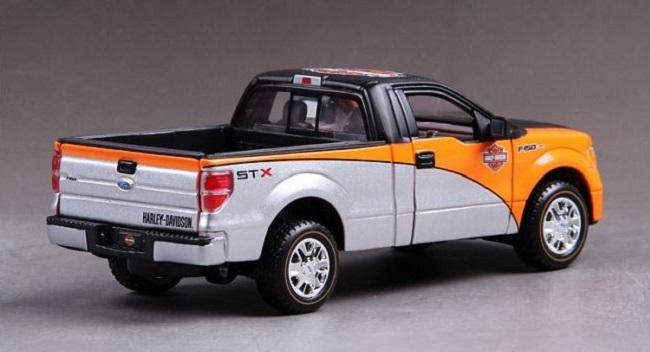 โมเดลรถ รถเหล็ก โมเดลรถเหล็ก โมเดลรถยนต์ Ford F150 GTX 4
