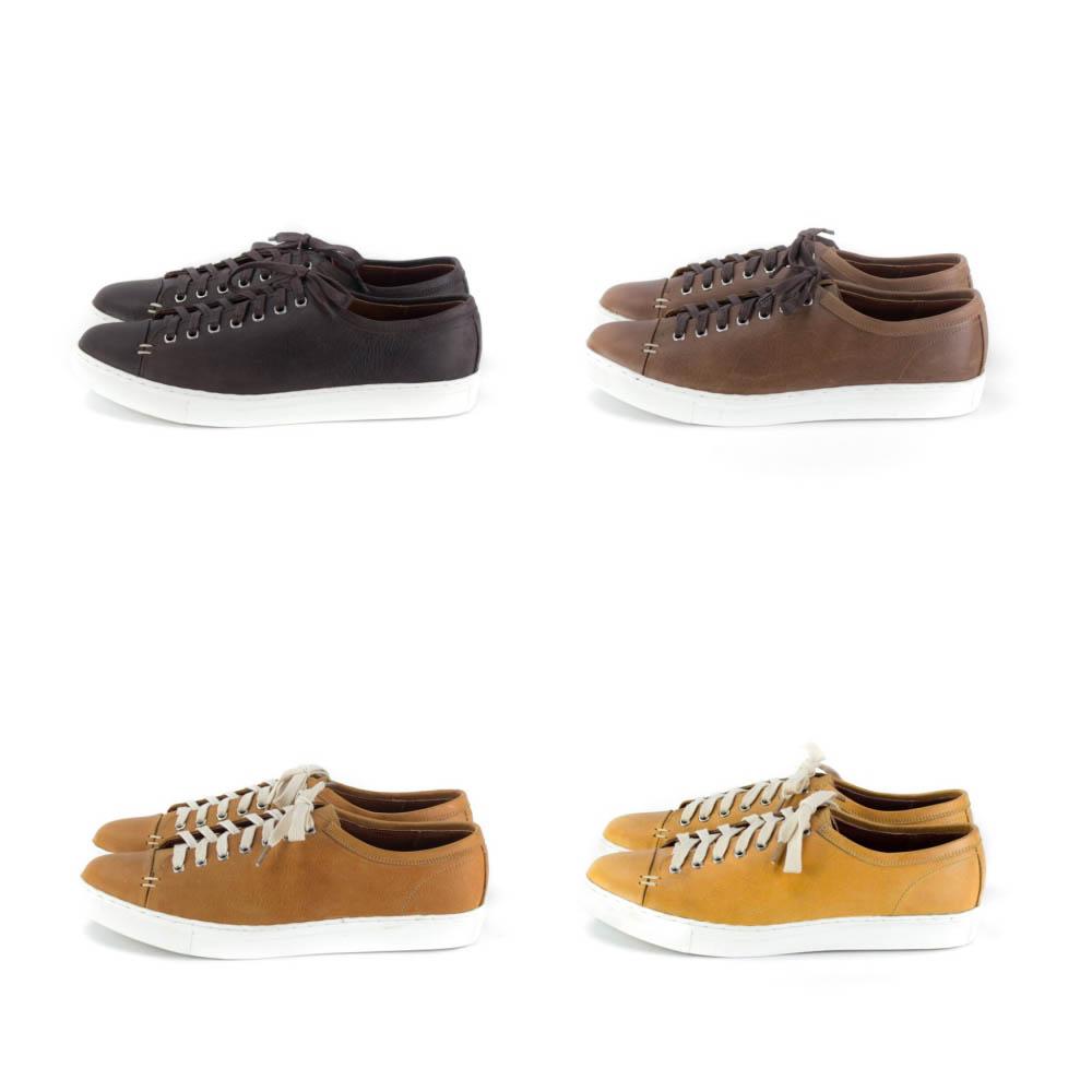 รองเท้าสนีกเกอร์หนัง รองเท้าหนัง Combo - CAPTAIN LEATHER