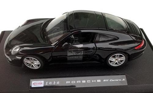 โมเดลรถ โมเดลรถเหล็ก โมเดลรถยนต์ porsche 911 carrera s black 3