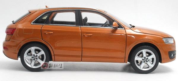 โมเดลรถ โมเดลรถเหล็ก โมเดลรถยนต์ Audi Q3 2013 orange 3