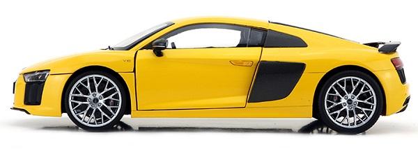โมเดลรถ โมเดลรถเหล็ก โมเดลรถยนต์ Audi R8 V10 coupe yellow 3