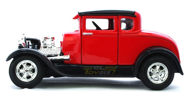 โมเดลรถ รถเหล็ก โมเดลรถเหล็ก โมเดลรถยนต์ Ford Mustang Model A 3