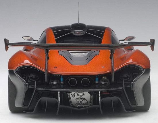 โมเดลรถ โมเดลรถยนต์ โมเดลรถเหล็ก Autoart Mclaren P1 GTR 5