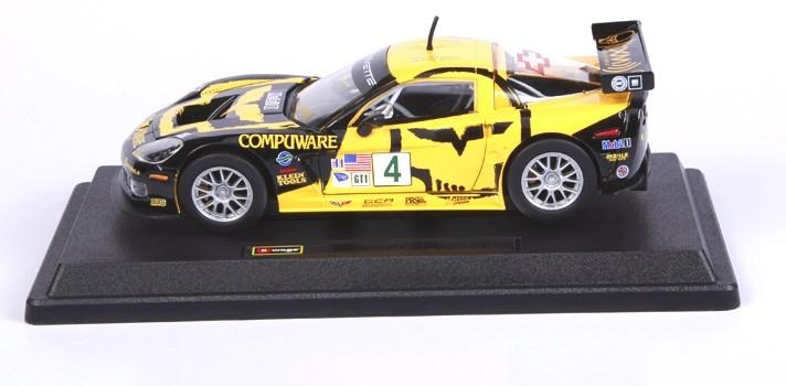 โมเดลรถ รถเหล็ก โมเดลรถเหล็ก โมเดลรถยนต์ Chevrolet C6R 3