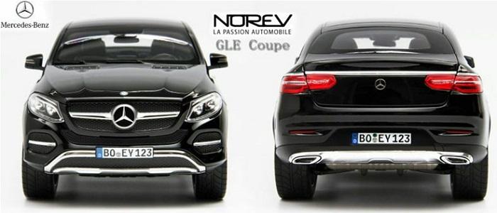โมเดลรถ โมเดลรถเหล็ก โมเดลรถยนต์ Benz GLE 2015 Black 5