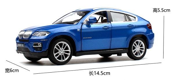 โมเดลรถเหล็ก โมเดลรถยนต์ bmw x6 1