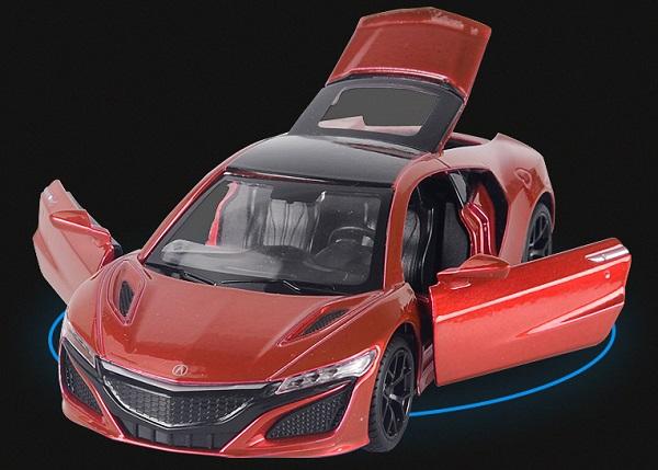 โมเดลรถเหล็ก โมเดลรถยนต์ honda acura nsx 5