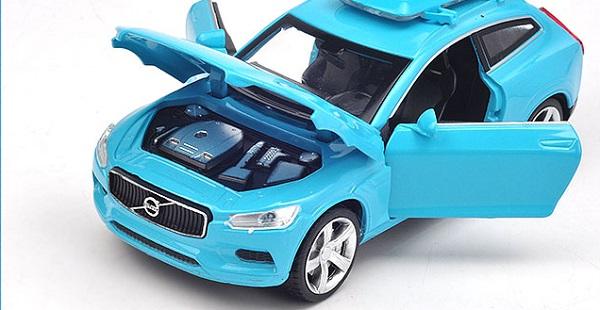 โมเดลรถเหล็ก โมเดลรถยนต์ Volvo XC 1