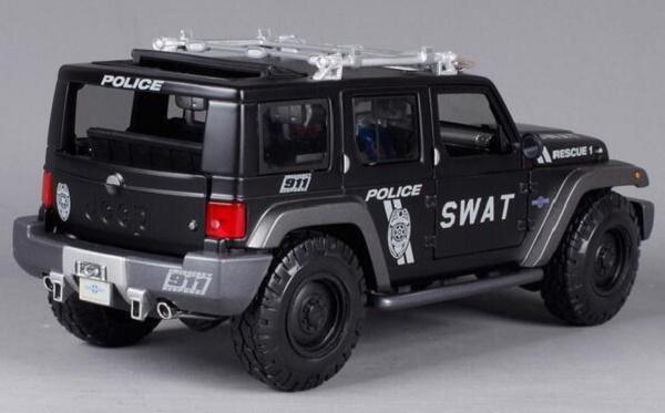 โมเดลรถ โมเดลรถเหล็ก โมเดลรถยนต์ Jeep Swat 2