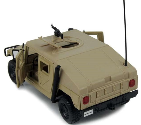 โมเดลรถเหล็ก โมเดลรถยนต์ Humvee 6