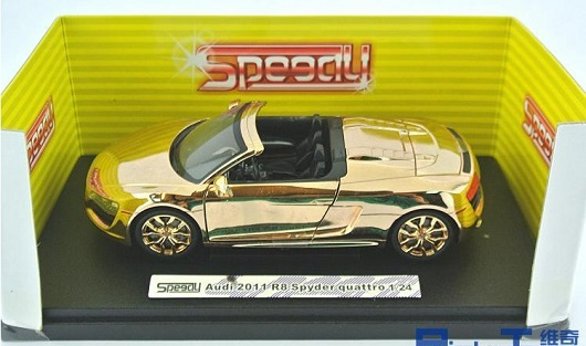 Audi R8 ทอง 7