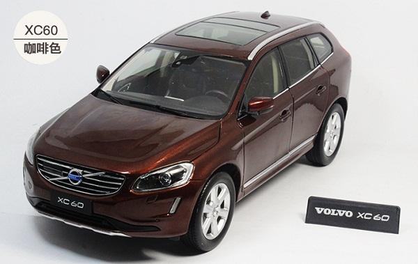 โมเดลรถ โมเดลรถเหล็ก โมเดลรถยนต์ Volvo XC60 brown1
