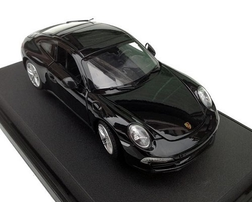 โมเดลรถ โมเดลรถเหล็ก โมเดลรถยนต์ porsche 911 carrera s black