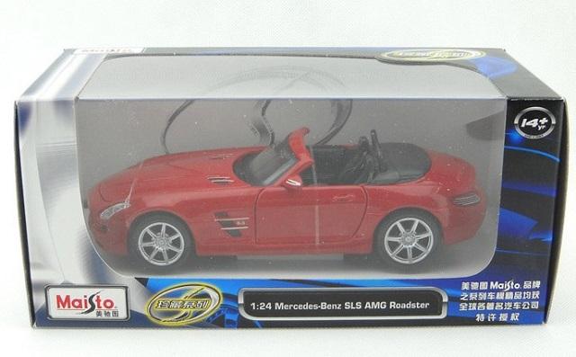 sls amg roadster แดง 8