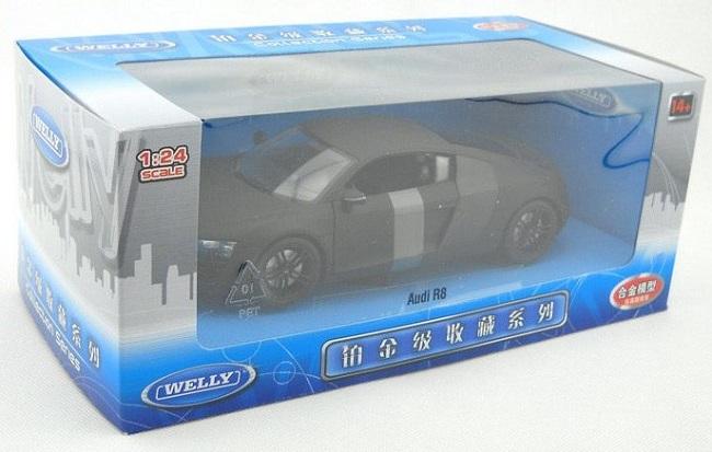 Audi R8 ดำด้าน 8