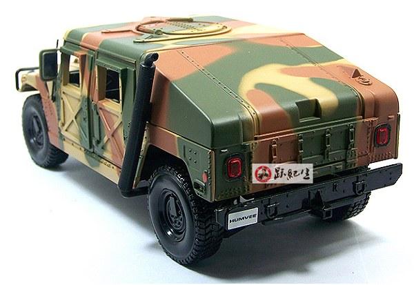โมเดลรถ โมเดลรถเหล็ก โมเดลรถยนต์ Hummer military 2