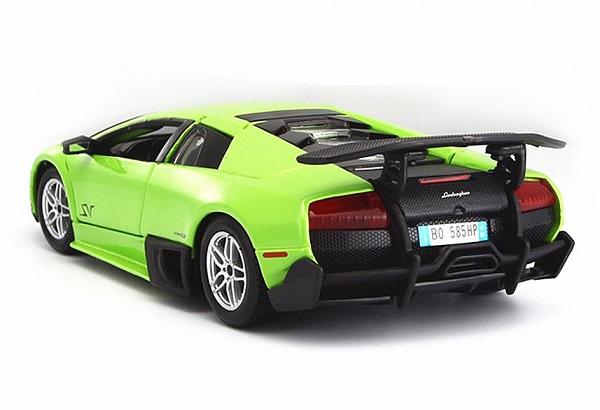 โมเดลรถประกอบ รถเหล็กประกอบ โมเดลรถเหล็กประกอบ, โมเดลรถยนต์ประกอบ Lambor Green 4