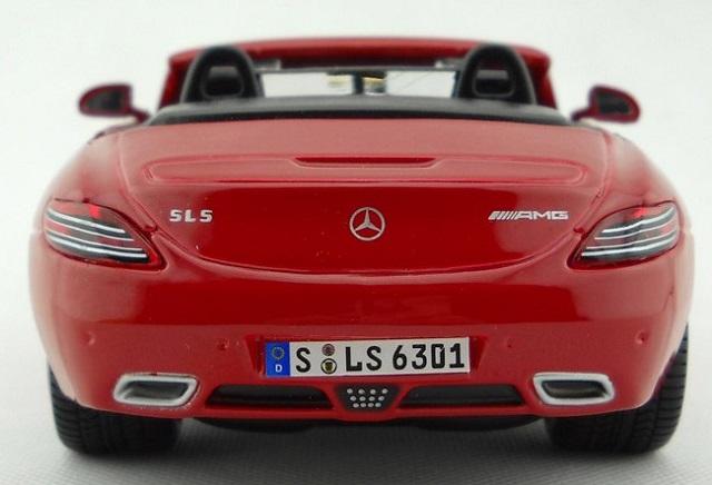 sls amg roadster แดง 7