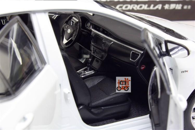 โมเดลรถ โมเดลรถเหล็ก โมเดลรถยนต์ toyota corolla 2014 white 5