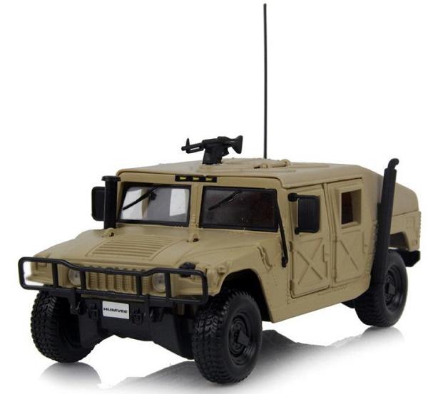 โมเดลรถเหล็ก โมเดลรถยนต์ Humvee 2