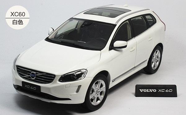 โมเดลรถ โมเดลรถเหล็ก โมเดลรถยนต์ Volvo XC60 white 1