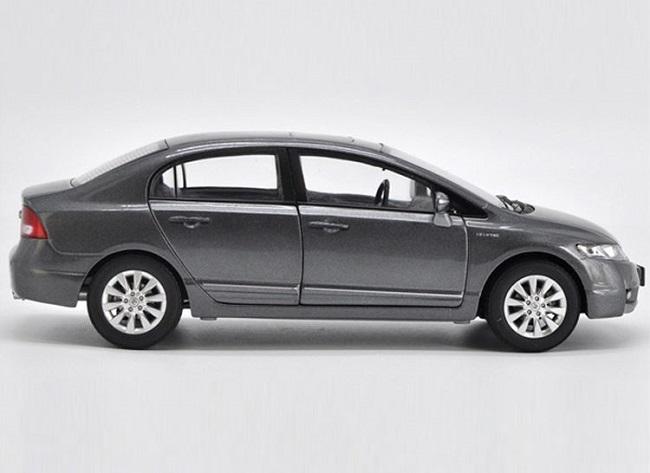 โมเดลรถ โมเดลรถเหล็ก โมเดลรถยนต์ Honda Civic 2009 grey 3
