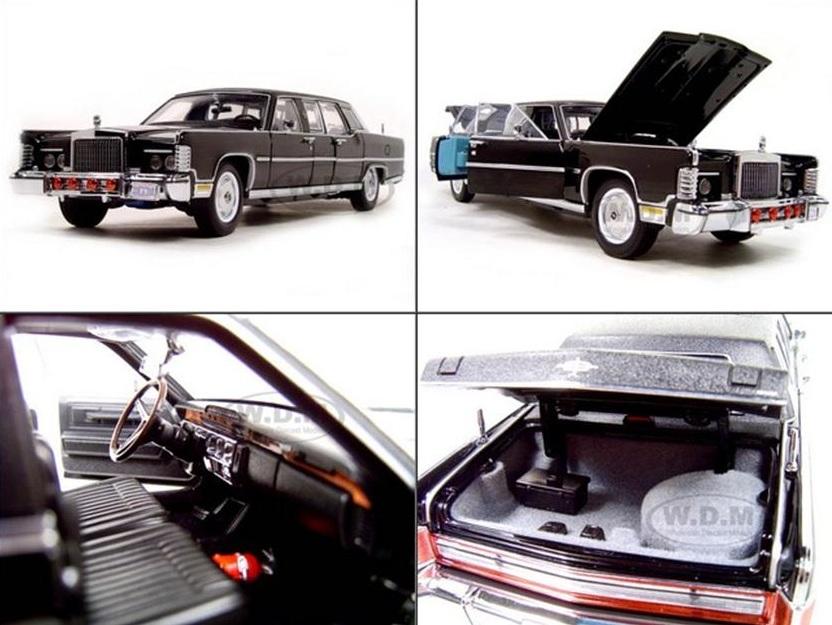 รถเหล็ก รถโมเดล limousine 1972