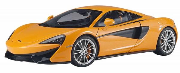 โมเดลรถ โมเดลรถยนต์ โมเดลรถเหล็ก Autoart Mclaren 570S ส้ม 1