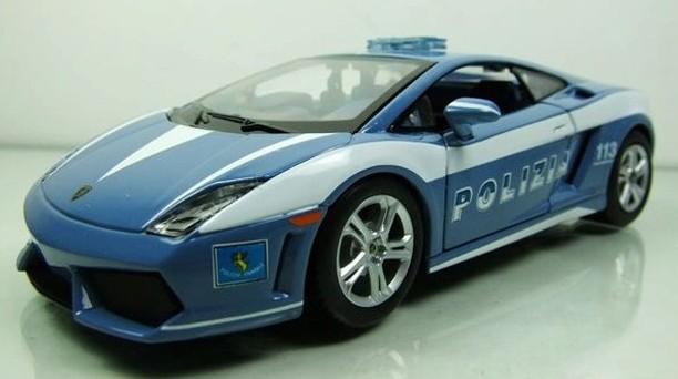 โมเดลรถ โมเดลรถยนต์ โมเดลรถเหล็ก lamborghini 560-4 police 1
