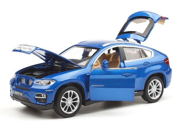 โมเดลรถเหล็ก โมเดลรถยนต์ bmw x6 4