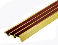 จมูกบันไดทองเหลืองBST3,จมูกบันไดทองเหลืองอัดแร่กากเพชร3แถบ,จมูกบันไดทองเหลืองอัดแร่กากเพชรสีน้ำตาล,จมูกบันไดทองเหลืองอัดแร่กากเพชรสีดำ,จมูกบันไดทองเหลืองกว้าง2นิ้วอัดแร่กากเพชร