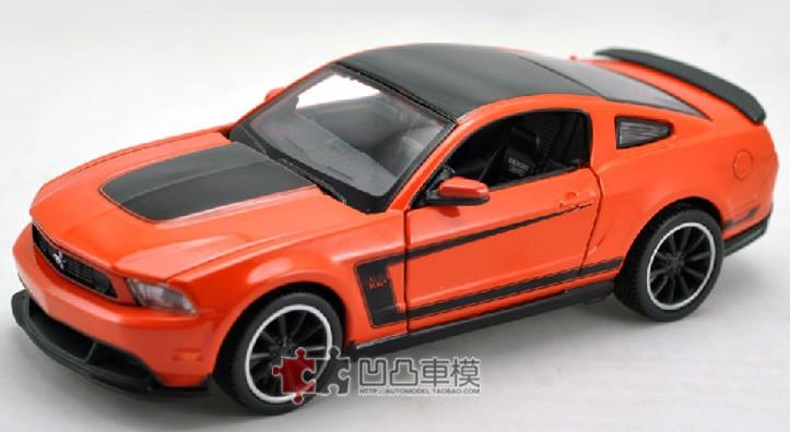โมเดลรถ รถเหล็ก โมเดลรถเหล็ก โมเดลรถยนต์ Ford Mustang Boss 302