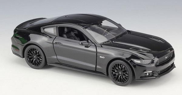 โมเดลรถ รถเหล็ก โมเดลรถเหล็ก Ford Mustang GT 2015 black 1
