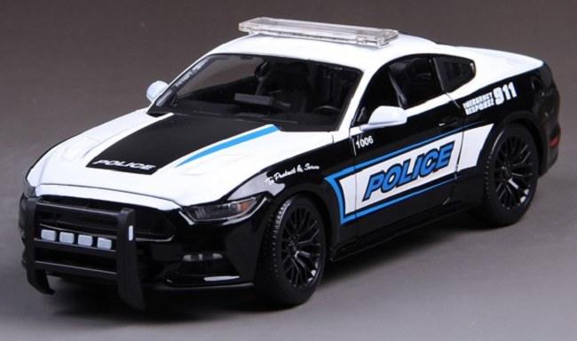 โมเดลรถ โมเดลรถเหล็ก โมเดลรถยนต์ Ford Police 911 1