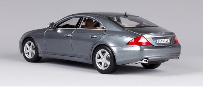 โมเดลรถ โมเดลรถเหล็ก โมเดลรถยนต์ Benz CLS Class silver 2