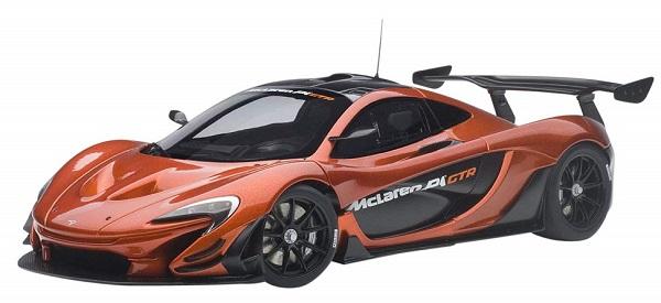 โมเดลรถ โมเดลรถยนต์ โมเดลรถเหล็ก Autoart Mclaren P1 GTR 1