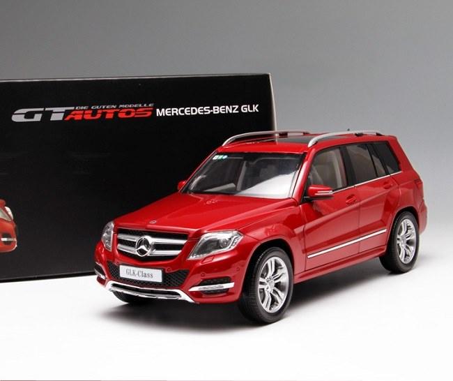 โมเดลรถ โมเดลรถเหล็ก โมเดลรถยนต์ Benz GLK 300 red 1